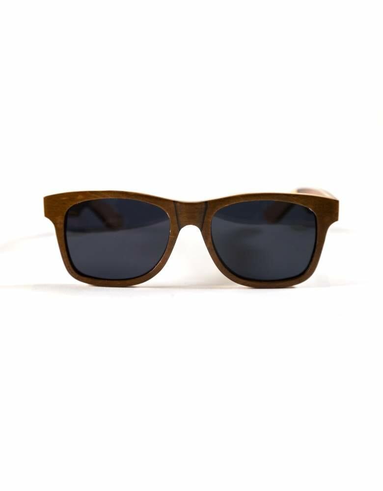 7200fe48334 Skateboard Wood Wayfarer Sunglasses - Old Youth Wooden Sunglasses