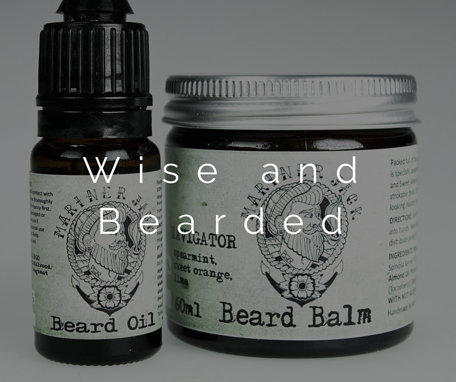 an image of Beard oil and balm that is great for the bearded father on fathers day