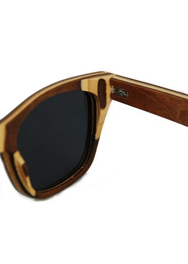 skateboard wood sunglasses hinge